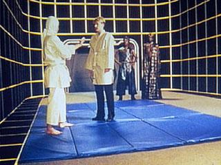 Holodek w Star Treku: ćwiczenia walki wręcz (ill: startrek.com)